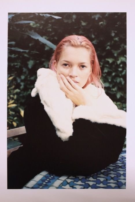 One of my fave photoshoots of all time #kate_moss #juergen_teller #pink_hair
