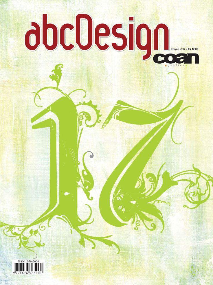 Capa da edição 17 da Revista abcDesign