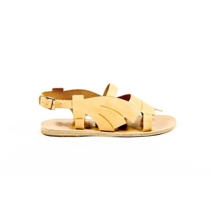 Beige 36 EUR - 6 US Carven Womens Flat Sandal SANDALE BASSE 115 NATUREL