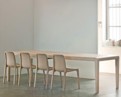 Sedia in rovere FRIDA by PEDRALI design Odoardo Fioravanti