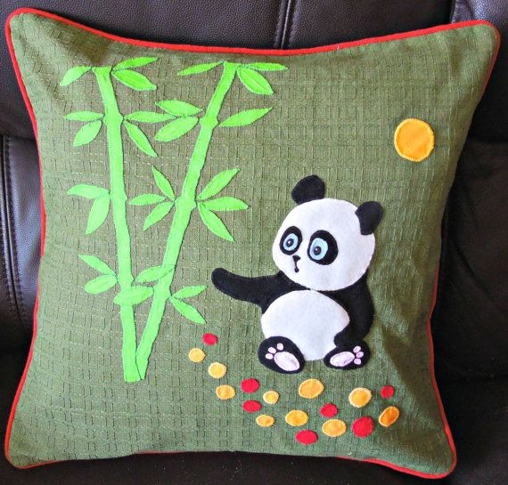 Animal Handmade Applique Decorative Nursery Cushion Pillow