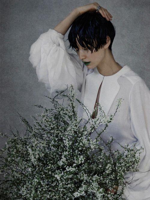 "stopdropandvogue:  Sera Park in ""Miss Invisible"" for Vogue Korea April 2013 photographed by Bon Chang Koo"
