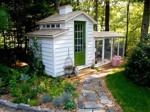 Take a Tour of This Adorable Chicken Coop  - CountryLiving.com