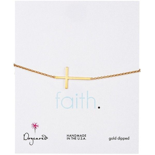 Dogeared 14K Gold Plated Sterling Silver Faith Cross Bracelet ($52) ❤ liked on Polyvore featuring jewelry, bracelets, no color, sterling silver bangles, 14k charm bracelet, sterling silver cross bracelet, sterling silver bracelet and sterling silver sideways cross bracelet