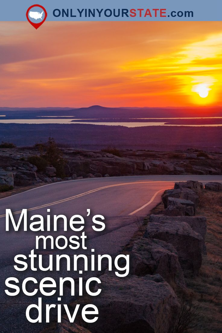 Travel | Maine | Attractions | USA | National Park | Outdoors | Adventure | Scenic Drive | New England | Acadia National Park | All American Road | Road Trips | Things To Do | Day Trips | Places To Visit | Bucket List | Scenery | Coastline | Harbor | Beaches | Cadillac Mountain | Atlantic