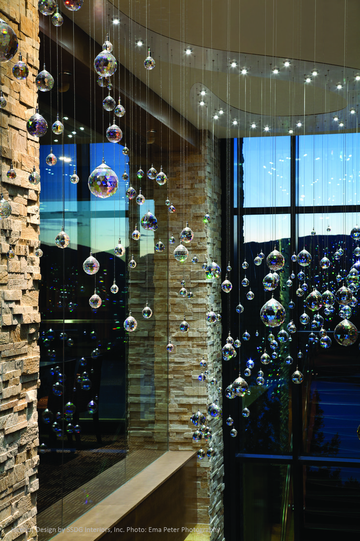 Cascading Crystal Staircase l Sparkling Hill