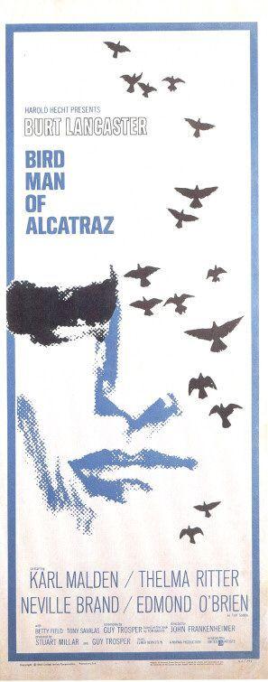 Bird Man of Alcatraz Movie Poster