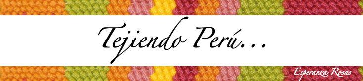 Galería de puntos fantasía 2 - Tejiendo Perú...