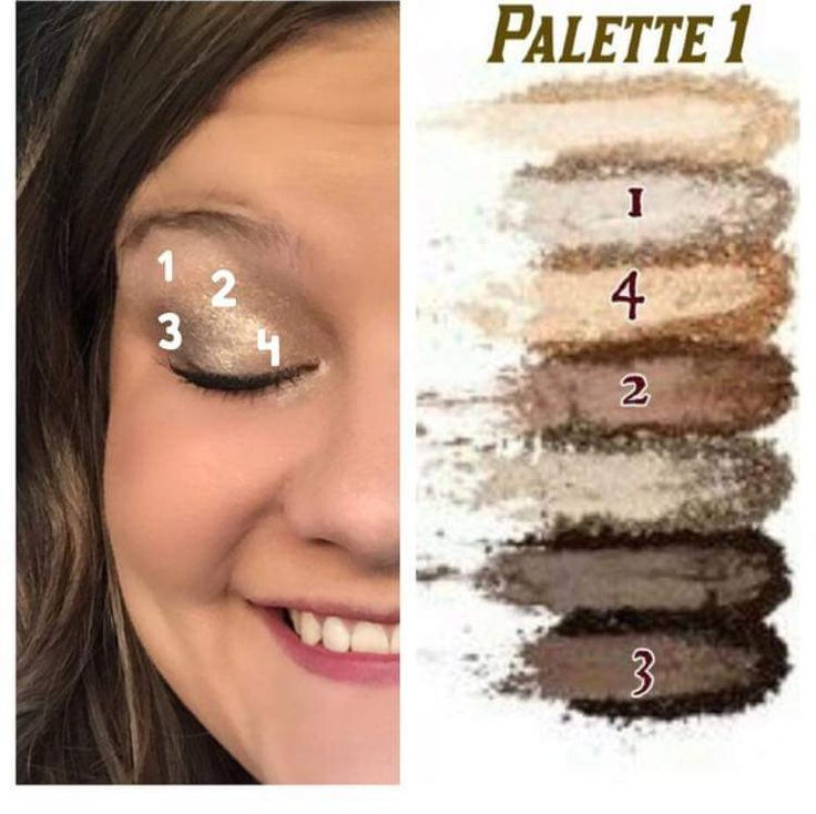 Palette 1 can give you so many looks..here is one gorgeous ...