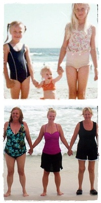 photo recreation 40+ years later -- We had so much fun!