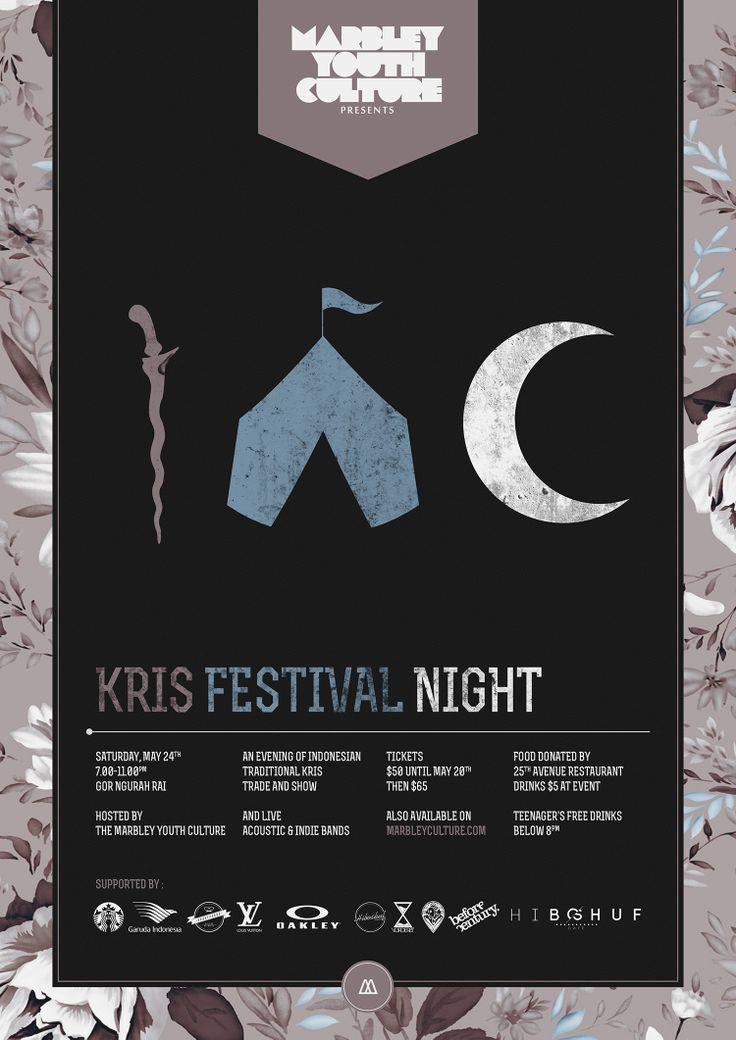 Kris Festival Night Poster Rf.1