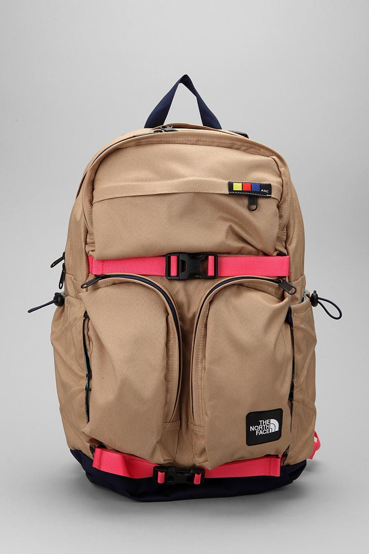 A practical and functional backpack (doesn't need to be north face, these are all just suggestions!)