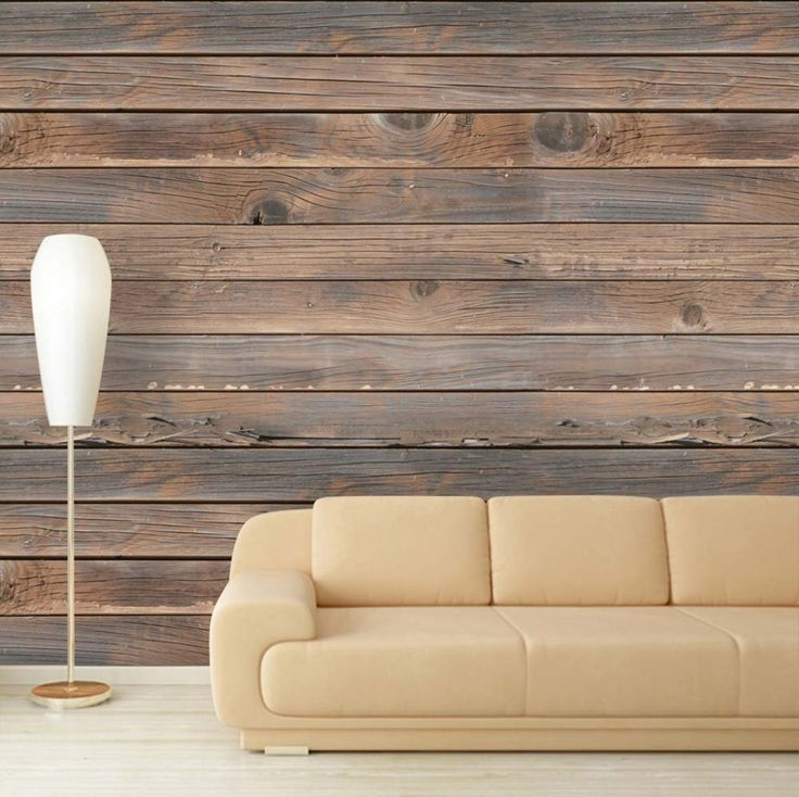 "Wall26 - Large Wall Mural - Seamless Wood Pattern | Self-adhesive Vinyl Wallpaper / Removable Modern Decorating Wall Art - 66"" x 96"""