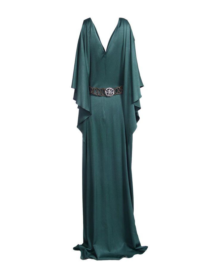 Zac Zac Posen | Green Long Dress | Lyst
