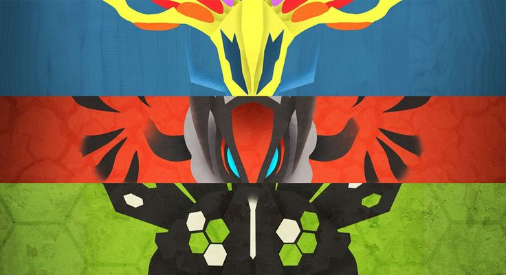 Xerneas, Yveltal, and Zygarde. | Legendary Pokemon ...
