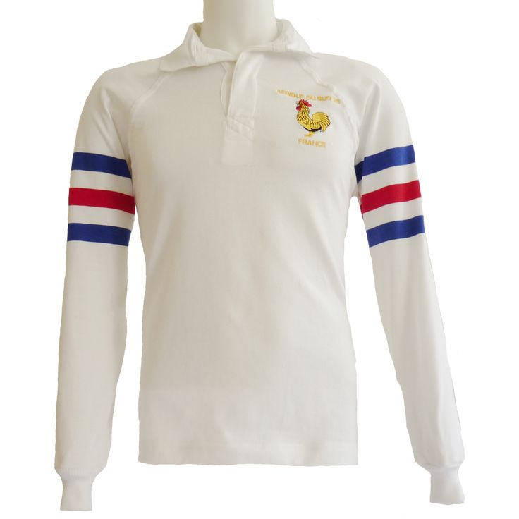 Maillot Rugby France 1995 blanc