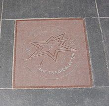 The Tragically Hip's star on Canada's Walk of Fame