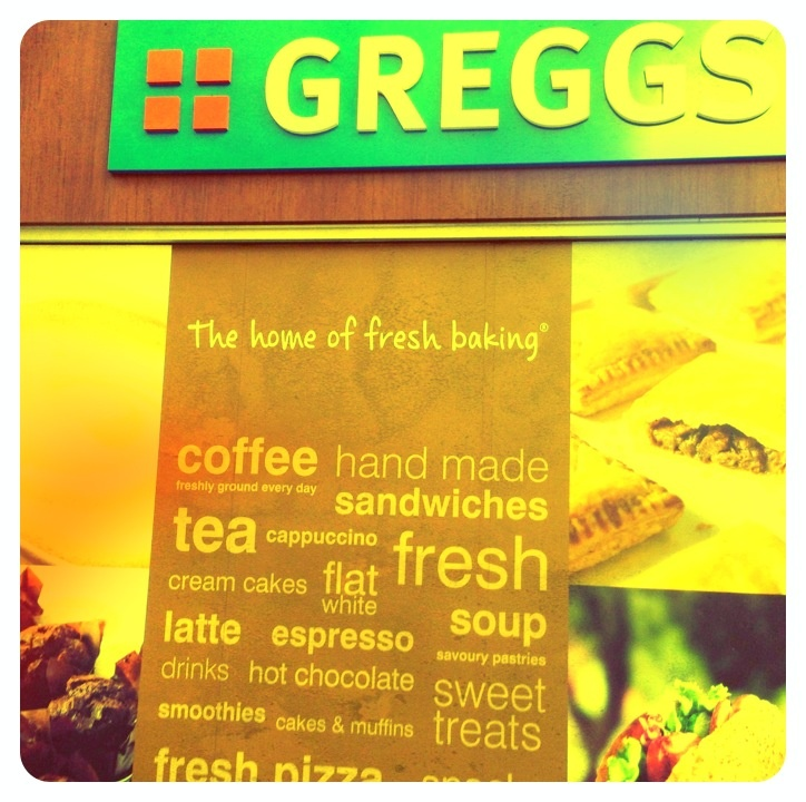 GREGGS... the home of fresh baking