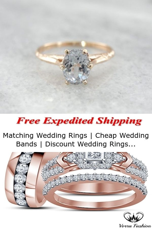 Matching Wedding Rings Cheap Wedding Bands Discount Wedding Rings In 2020 Discount Wedding Rings Beautiful Engagement Rings Matching Wedding Rings