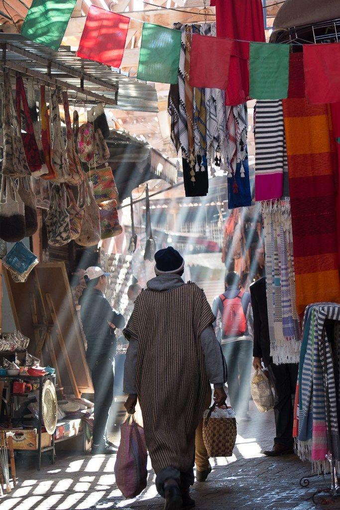 Marakeş Bazaar // Photography by Onur Yuksel