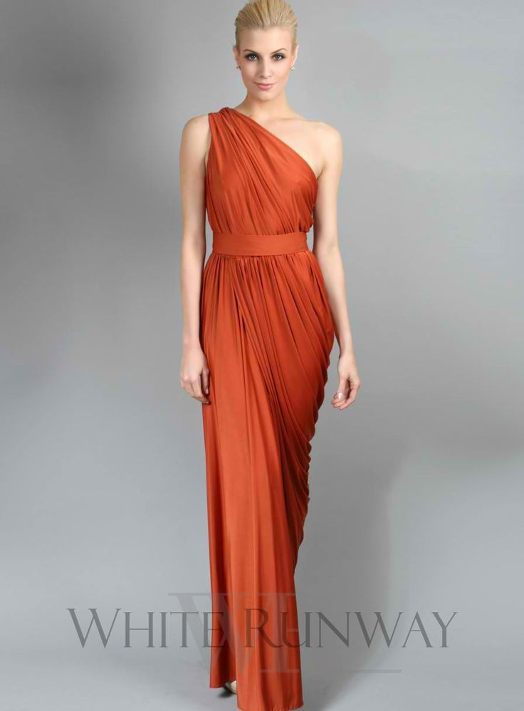 Best 20  Burnt Orange Bridesmaid Dresses ideas on Pinterest ...