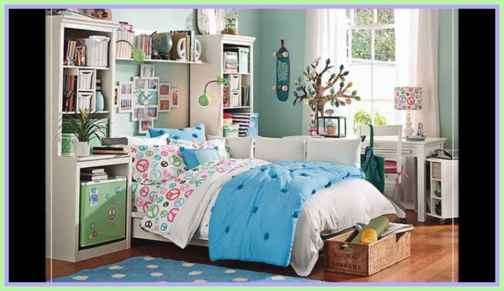 80 reference of Girls Room Themes in 2020   Cool girl ... on Bedroom Reference  id=64020