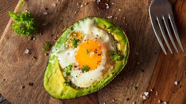 The 28-Day Shrink Your Stomach Challenge Baked Egg in Avocado | The Dr. Oz Show