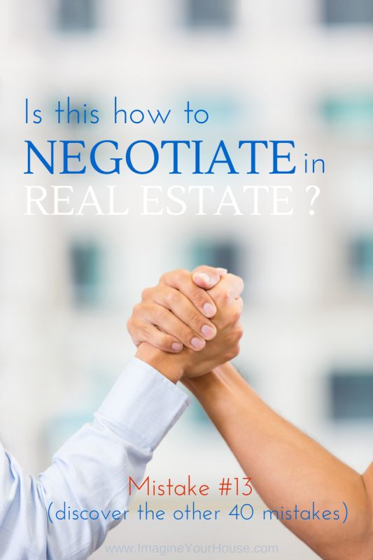 Go in prepared! Don't fall victim to one of these 41 home selling mistakes!