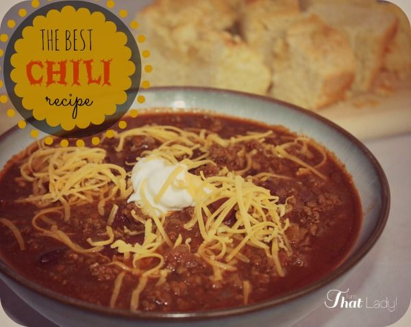 Are you looking for the best chili recipe? Here is my popular family recipe, the secret ingredients: Cinnamon and Chocolate...