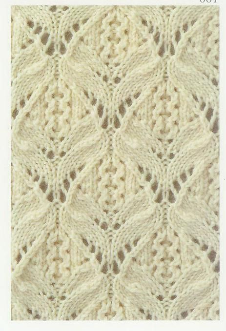 Lace Knitting Stitch #11 This website is a great resource for lace knitting stitches