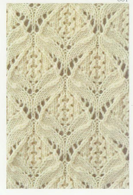 Lace Knitting Stitches: Lace Knitting Stitch #11