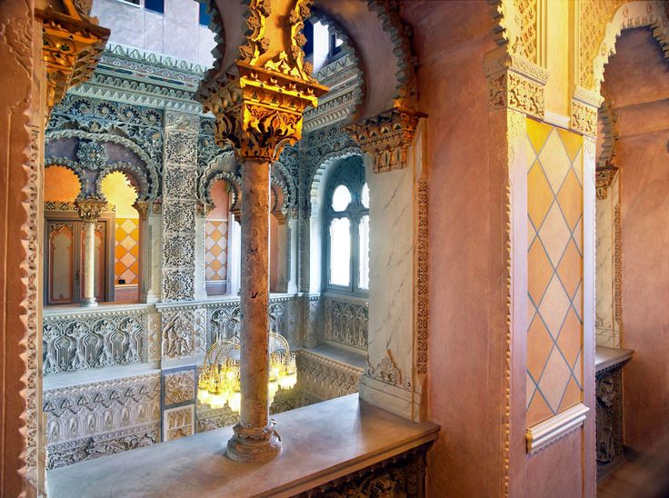 Moorish boutique hotel near lake Maggiore