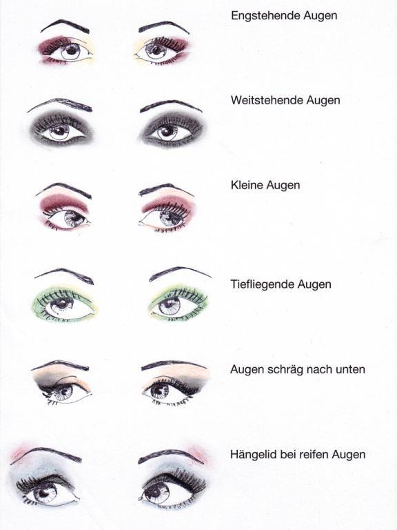 Make-up-Tipps: Augen Make-up   – Schminktipps