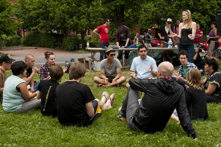 Beatboxing Workshop with Matt Gimourat Ravenswing DIY Fair 2010 (Photos) | Blurasis