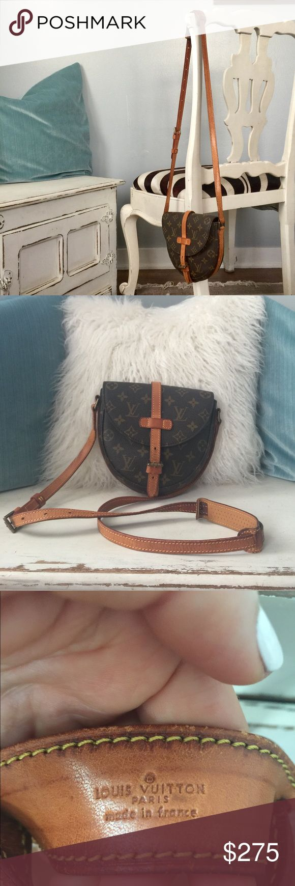 Authentic Louis Vuitton crossover small handbag Perfect for a night out in the town ,concerts, date night etc Louis Vuitton Bags Crossbody Bags