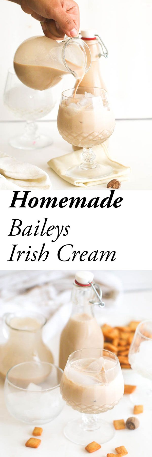Homemade Bailey's Irish Cream Liquor? Anyone? Copy cat version easily customizable to suit your tastebuds with mint or spices