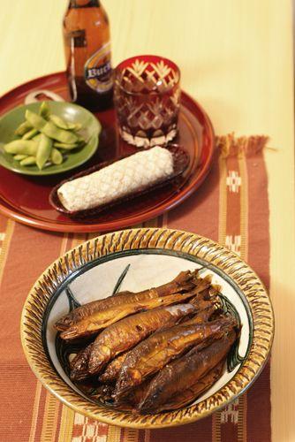 鮎の甘露煮 | 美肌レシピ