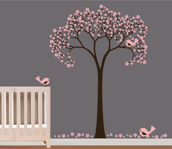 Adorable tree wall decal