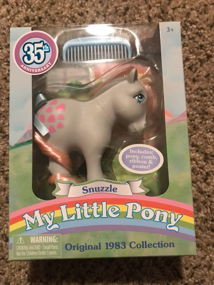My little pony 35th anniversary edition New in Box Flashback to 1983 original series