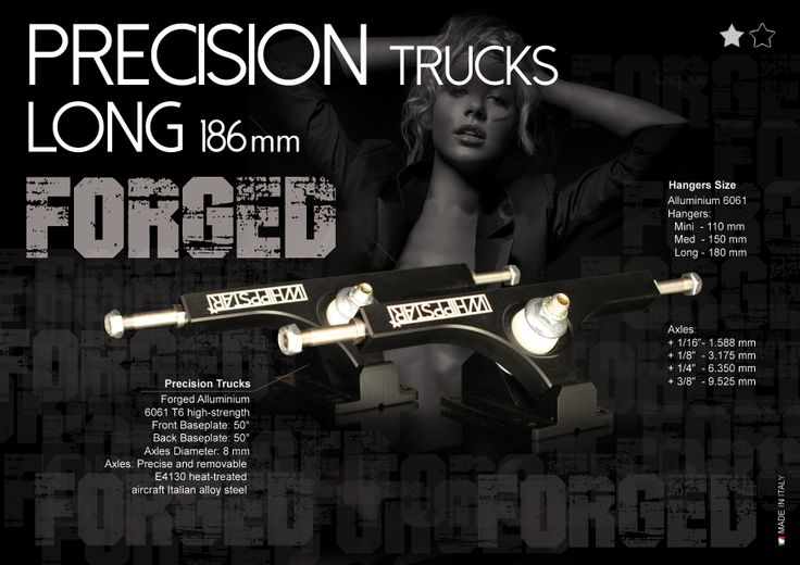 New Forged Whippstar Precision Trucks