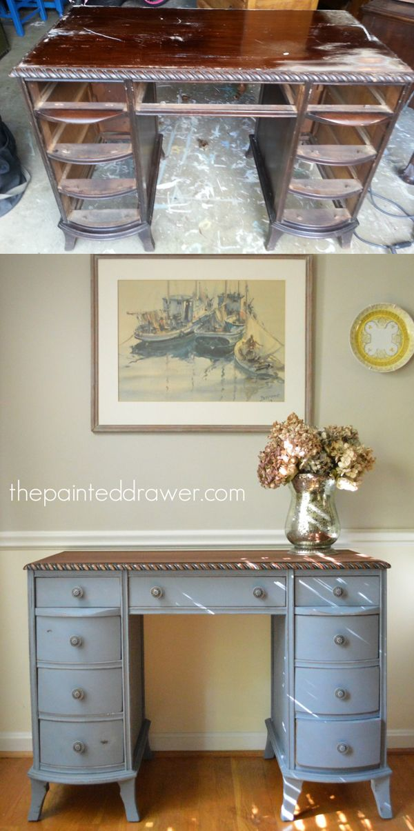 Furniture transformation by some extremely talented bloggers that you have to see to believe! DIY, wood working, refinishing