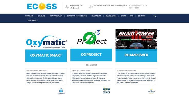 sito web di Upane web agency per Ecosunsolution