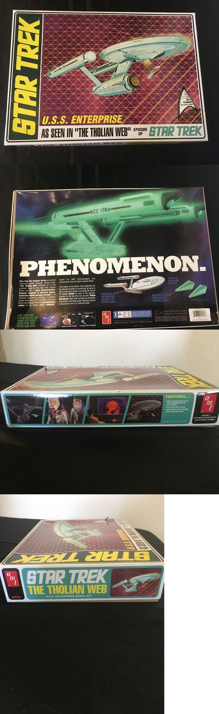 Star Trek 49211: Star Trek The Tholian Web U.S.S. Enterprise Model Kit Amt -> BUY IT NOW ONLY: $75 on eBay!