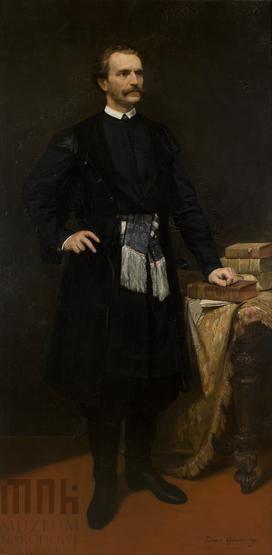 Portret Adama hr. Potockiego |  Ajdukiewicz, Tadeusz | 1880 Katalog MNK