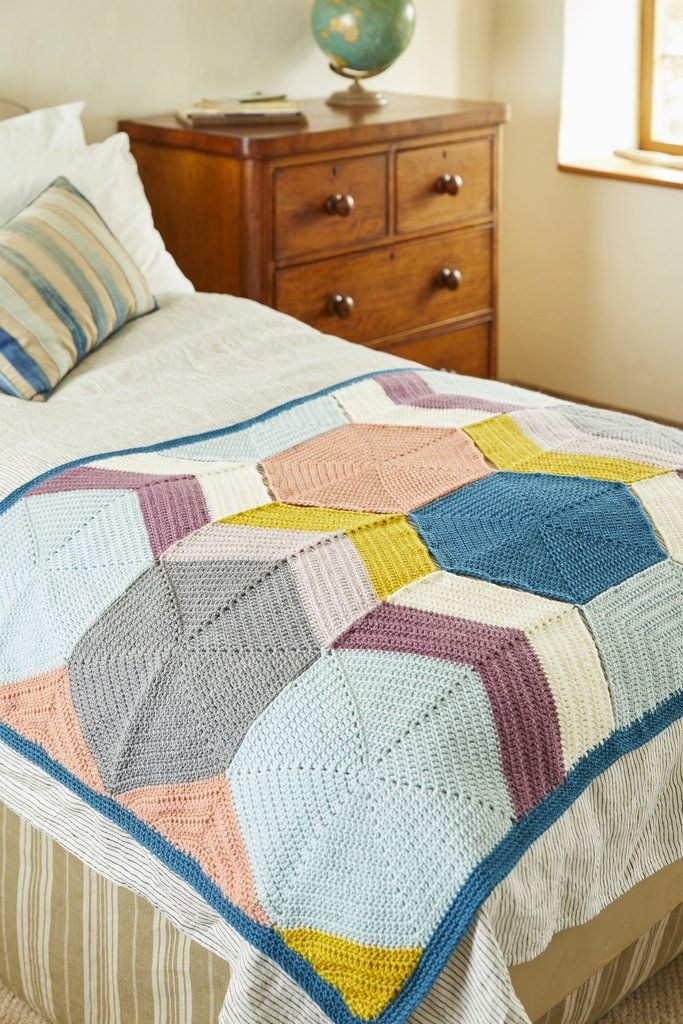 Blanket in Special DK Stylecraft 9449 Knitting Pattern