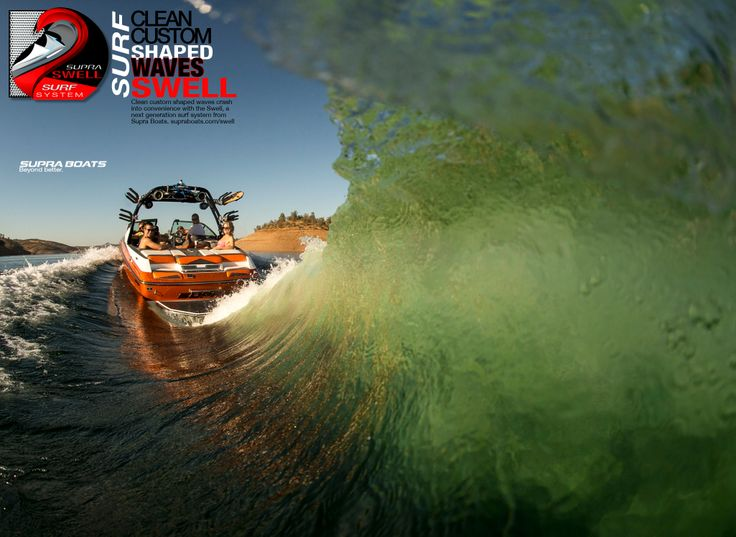 Supra Boats has their all new SWELL surf system out today!