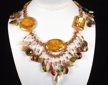 663 best images about maxi collar on pinterest bead for Fall into color jewelry walmart