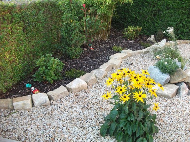 17 best images about pebbles and lanscaping on pinterest for Low maintenance gravel garden