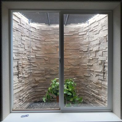 Make Ugly Basement Window Wells Pretty Customwindowwells
