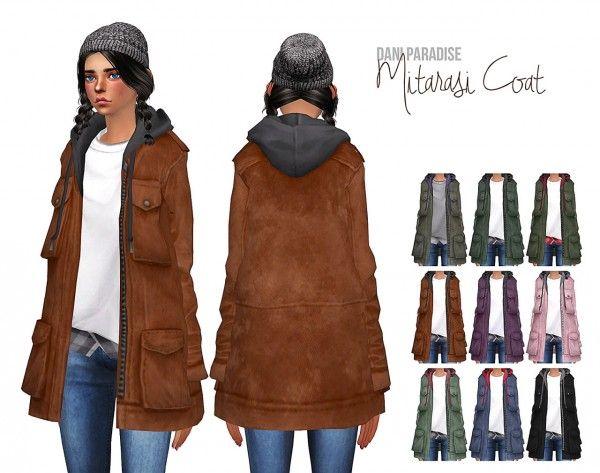 Dani-Paradise: Mitarasi coat • Sims 4 Downloads